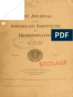 American Institute of Homopathy Volume 7 No.1t_2