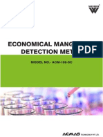 Economical Manganese Detection Meter