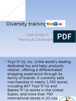 diversity training at toys r us