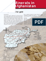 Mineral Potential of Afghanistan
