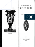 Thompson Dictionary of Fishes
