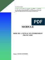 Module Mise a Niveau en Expression Francaise Offshore.634
