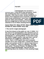 6 Extremes in Photography