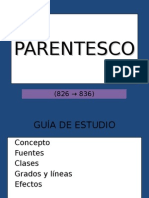 2. Parentesco