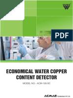 Economical Water Copper Content Detector