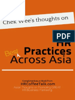 Chek Wee's Thoughts on Best HR Practices Across Asia Vol 1#