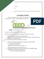 Cycloidal Curves