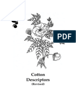 Cotton Descriptors