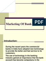 Marketing of Bank Services