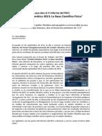 """Lo que dice el V Informe del PICC: """"Cambio Climático 2013"""