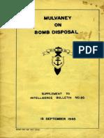 Usa-1945 Fumetto Umoristico Bomb Disposal