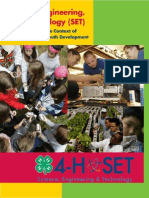 4h Science Engineering Technology Programming in the Context of 4h Youth Development 2007