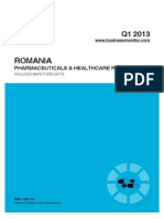 Romania Pharmaceuticals and Healthcare Report
