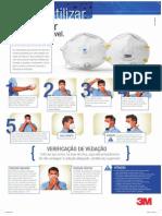 Proteção Respiratória - Como utilizar o Respirador Descartável