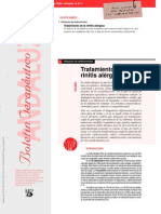 Tratamiento de la rinitis alérgica