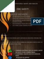 Aw 201 Osha Fire safety