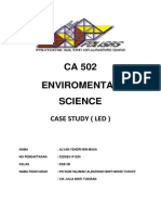 Report LED environmental science