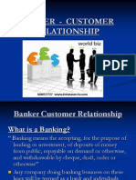 MBF-Banker Customer Relationship
