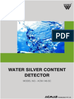 Water Silver Content Detector