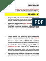 JADWAL MHS GASAL 2013-2014