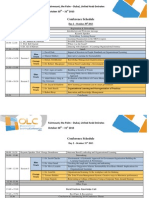 OLC MENA 2013 Conference Schedule