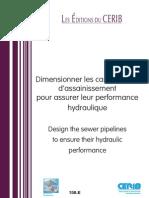 158e Dimensionner Canalisations d Assainissement Beton Pour Assurer Performance Hydraulique