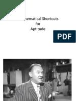 Mathematical Shortcuts