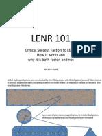 LENR 101
