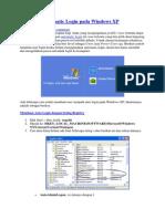 Membuat Automatic Login Pada Windows XP