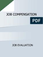 Job Compensation