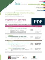 Programme Caravane de la Compétitivité - Session de Casablanca