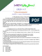 K6 Questionnaire