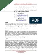 SN - Preduzeće i njegovo okruženje sa posebnim osvrtom na prirodno okruženje (1)