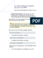 Fedora Commands1
