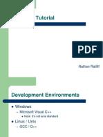 Nathan Ratliff- ACM C++ Tutorial