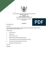 Standarisasi Minimal Gedung arsip nasional