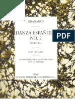 Granados DanzaEspanolaNo2