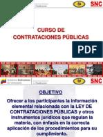 Curso de Contrataciones Publicas 2009