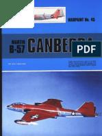 (Warpaint Series No.45) Martin B-57 Canberra