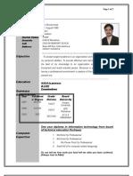 New CV Atif