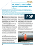 Prevention and integrity monitoring to assist with pipeline leak detection