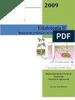 MANUAL DE LABORATORIO DE EDAFOLOGIA II