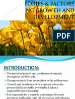 Theories Factors Affecting Growth and Development