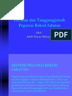 Peranan Dan Tanggungjawab Pegawai Rekod Jabatan2
