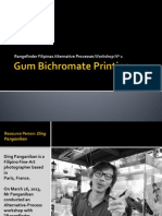 Gum Bichromate Printing