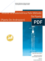 Análise Granulométrica Pelo Método Da Pipeta