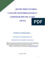 White-paper Autism 2010