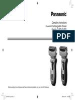 Panasonic ES-RT31 _ES-RT51 Operating Instructions