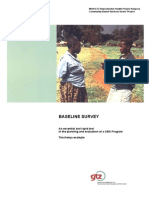 En Baseline Survey Essential and Rapid Tool Cbd