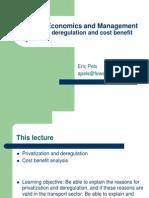 6 Privatization Deregulation CBA